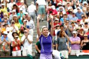 simona halep bucurie indian wells