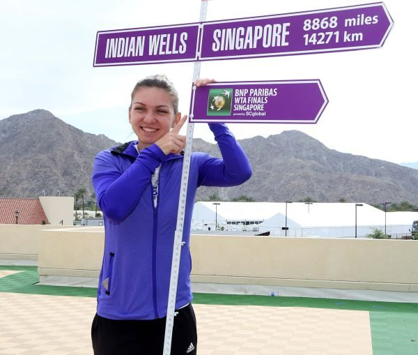 simona halep road to singapore