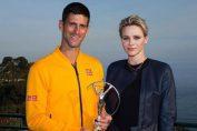 Novak Djokovic Laureus trofeu