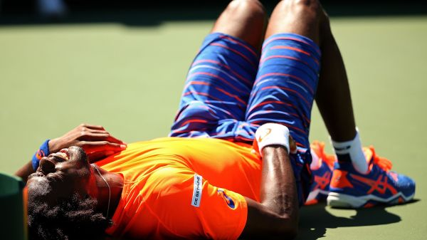 gael monfils accidentare miami