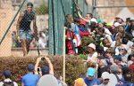POZA ZILEI, 15 aprilie 2015: Cam aşa se îngrămădesc fanii să-l vadă pe Rafael Nadal la antrenament în Monte Carlo