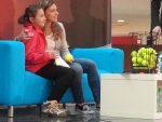 Simona Halep a făcut poze cu fanii timp de două ore azi, la un mall din București