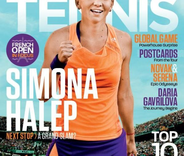 coperta australian tennis simona halep