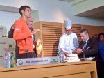 POZA ZILEI, 22 mai 2015: Novak Djokovic a primit un tort de ziua lui la Roland Garros 2015