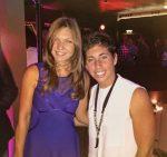 POZA ZILEI, 23 mai 2015: Simona Halep, alături de Carla Suarez Navarro la players party Roland Garros 2015