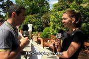 Simona Halep lectia de franceza