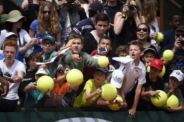 kids day roland garros