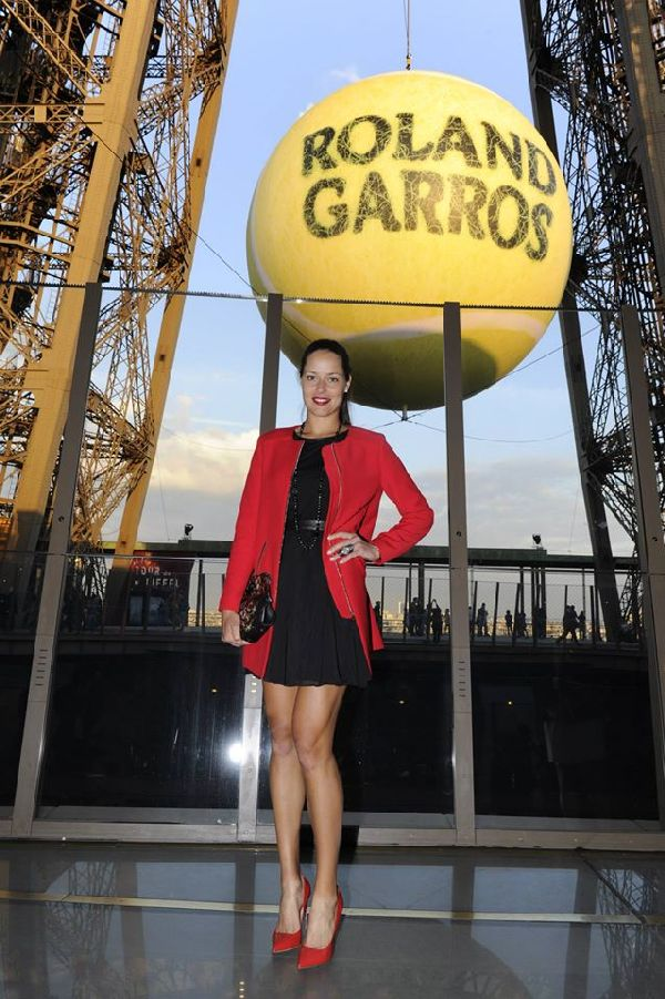 roland garros 2015 players party ivanovic