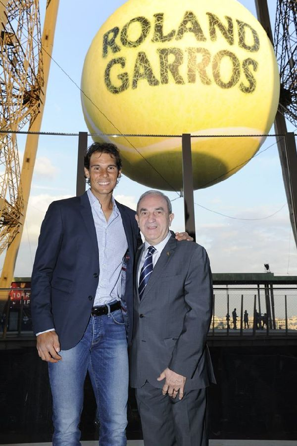 roland garros 2015 players party nadal