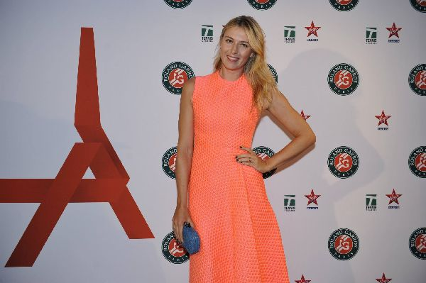 roland garros 2015 players party sharapova