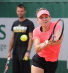 Roland Garros 2015. Imagini cu Simona Halep la antrenamentul de luni