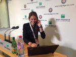 Andreea Mitu a răspuns fanilor, inclusiv DoarTenis prin intermediul Roland Garros Twitter astăzi, după meci