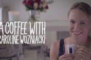 caroline wozniacki lavazza cafea