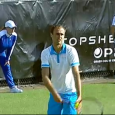 , După ce Andreea Mitu (locul 68 WTA) a fost eliminată în primul tur la turneul de la 's-Hertogenbosch, o altă reprezentantă, Elena Bogdan a pierdut și aceasta în primul...