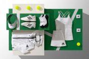 echipament adidas simona halep wimbledon