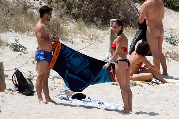 fabio fognini flavia pennetta plaja