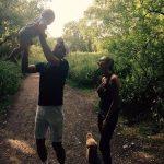 FOTO: Novak Dkokovic și-a scos fiul, soția și cățelul la plimbare