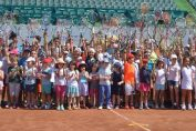 halep kids day bucharest open