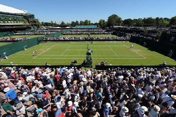 Terenurile secundare de la Wimbledon