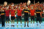 POZA ZILEI, 21 septembrie 2015: Bucuria belgienilor după calificarea în finala Cupei Davis