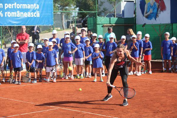 simona halep tenis copii bucuresti