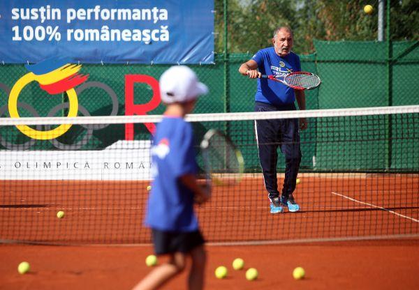 Ion Tiriac tenis copii bucuresti