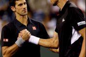 Novak Djokovic şi Victor Hănescu