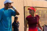 US Open 2015: Imagini din primul meci de dublu mixt jucat de Simona Halep şi Horia Tecău