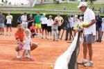 POZA ZILEI, 29 septembrie 2015: Novak Djokovic, antrenor pentru cei mai mici tenismeni