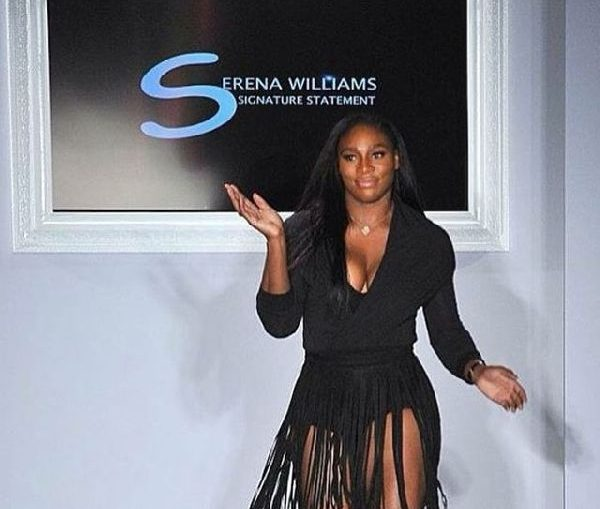 serena williams new york fashion week