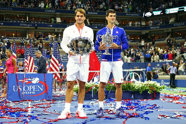 us open novak djokovic trofeu
