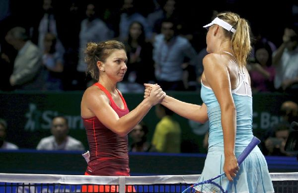 halep sharapova singapore