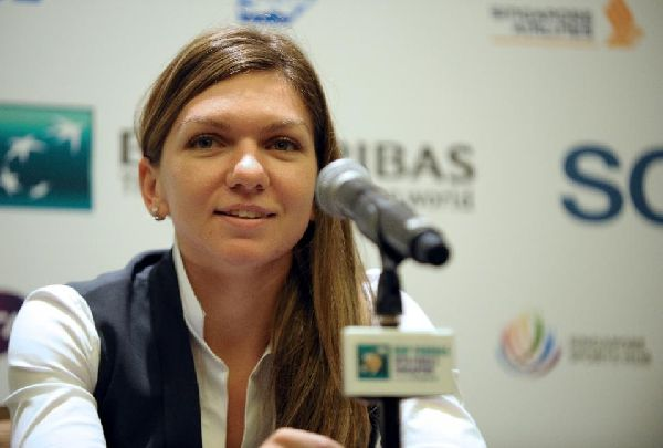 Simona Halep conferinta de presa Turneul Campioanelor