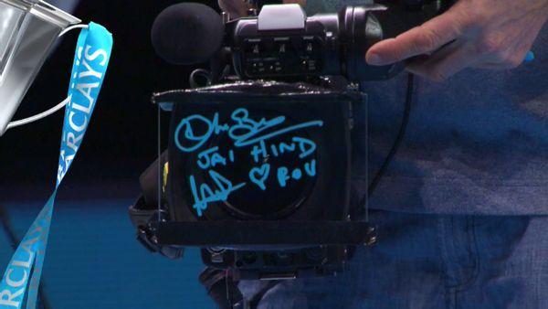 autograf dedicatie mergea