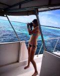 FOTO: Belinda Bencic, în vacanță pe o plajă din Maldive