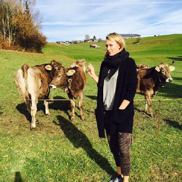 maria sharapova munte vacanta vaci