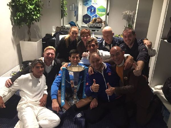 djokovic echipa trofeu turneul campionilor