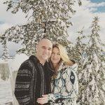 FOTO: Andre Agassi și Steffi Graf se bucură de zăpadă