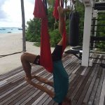 FOTO: Novak Djokovic a descoperit calități de acrobat