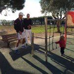 FOTO: Noval Djokovic are un partener nou de antrenament – fiul lui, Stefan