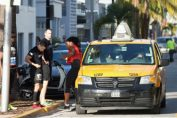 serena williams cursa taxi miami