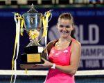 POZA ZILEI, 1 ianuarie 2016: Agnieszka Radwanska a început anul cum l-a încheiat pe celălalt: cu un trofeu. La Hua Hin