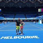 Australian Open 2016: Marius Copil și Andreea Mitu au început antrenamentele (FOTO)