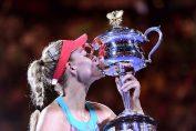 angelique kerber trofeu australian open