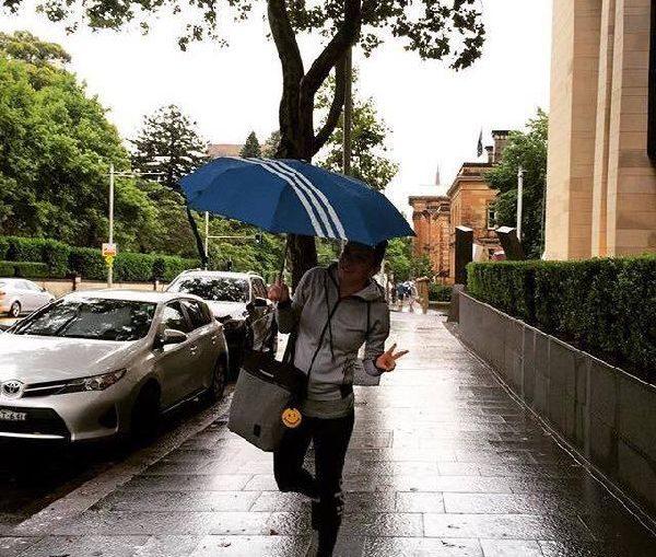 simona halep ploaie sydney