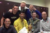 novak djokovic trofeu doha echipa