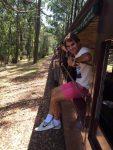 POZA ZILEI, 12 ianuarie 2016: Roger Federer s-a plimbat cu trenulețul în Australia