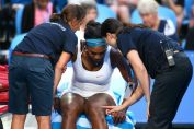 serena williams accidentare cupa hopman