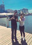 POZA ZILEI, 8 ianuarie 2016: Simona Halep și Darren Cahill au ieșit la o înghețată în Sydney