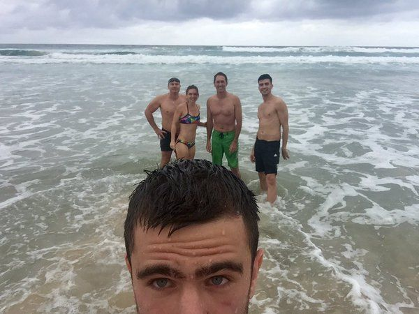 simona halep plaja ocean